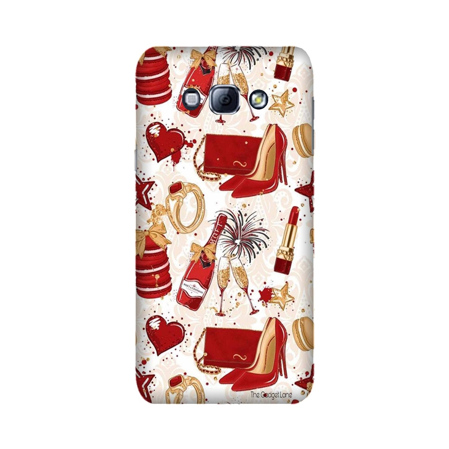 Girlish Mobile Back Case for Galaxy A8 (2015)  (Design - 312)