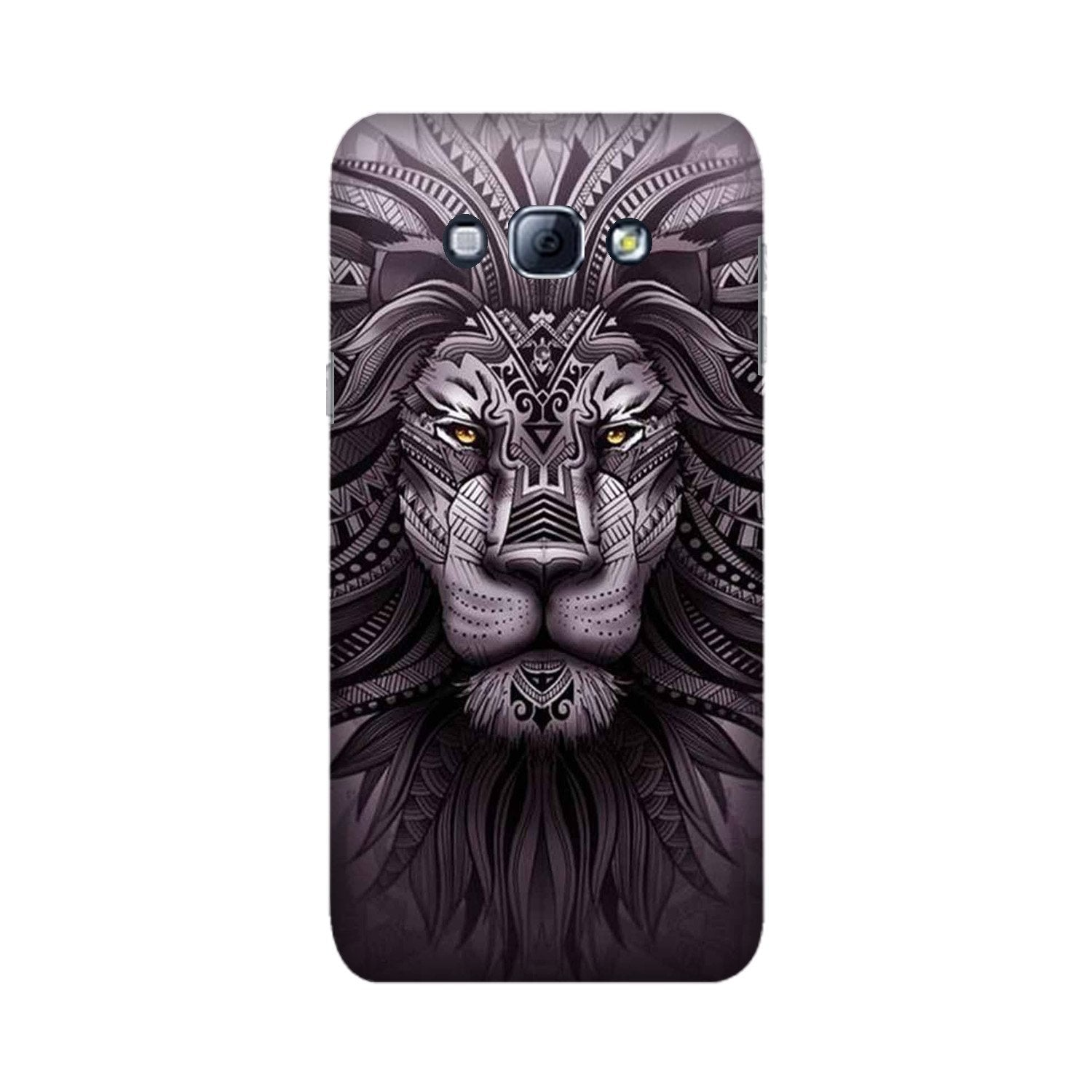 Lion Mobile Back Case for Galaxy A8 (2015)  (Design - 315)
