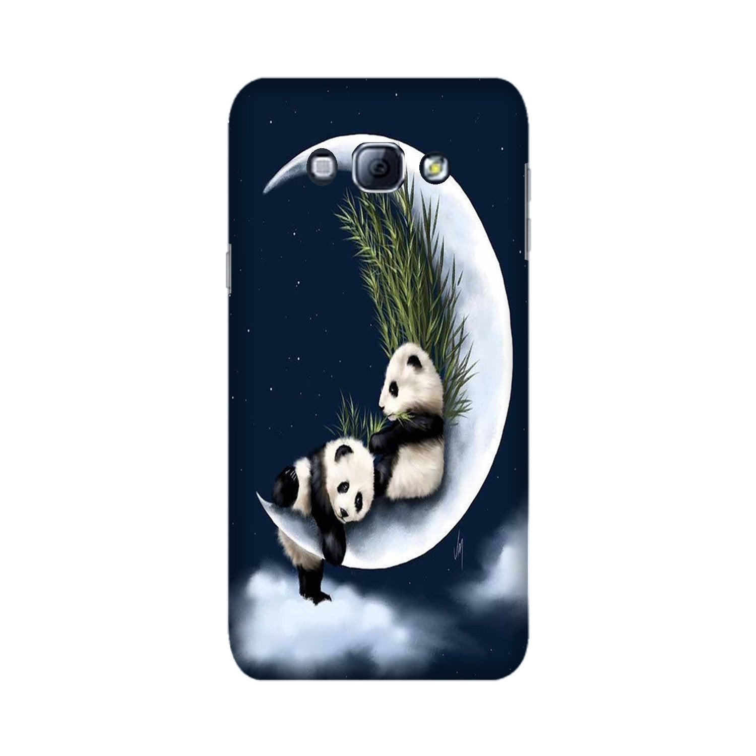 Panda Moon Mobile Back Case for Galaxy A8 (2015)  (Design - 318)
