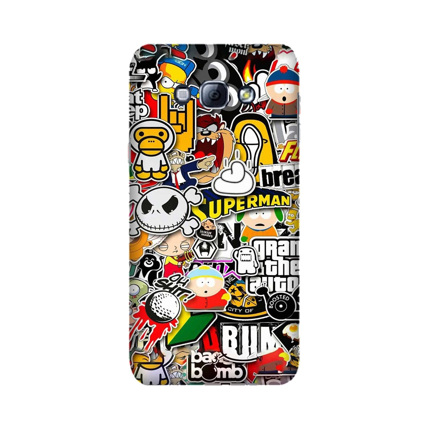 Designer Mobile Back Case for Galaxy A8 (2015)  (Design - 320)