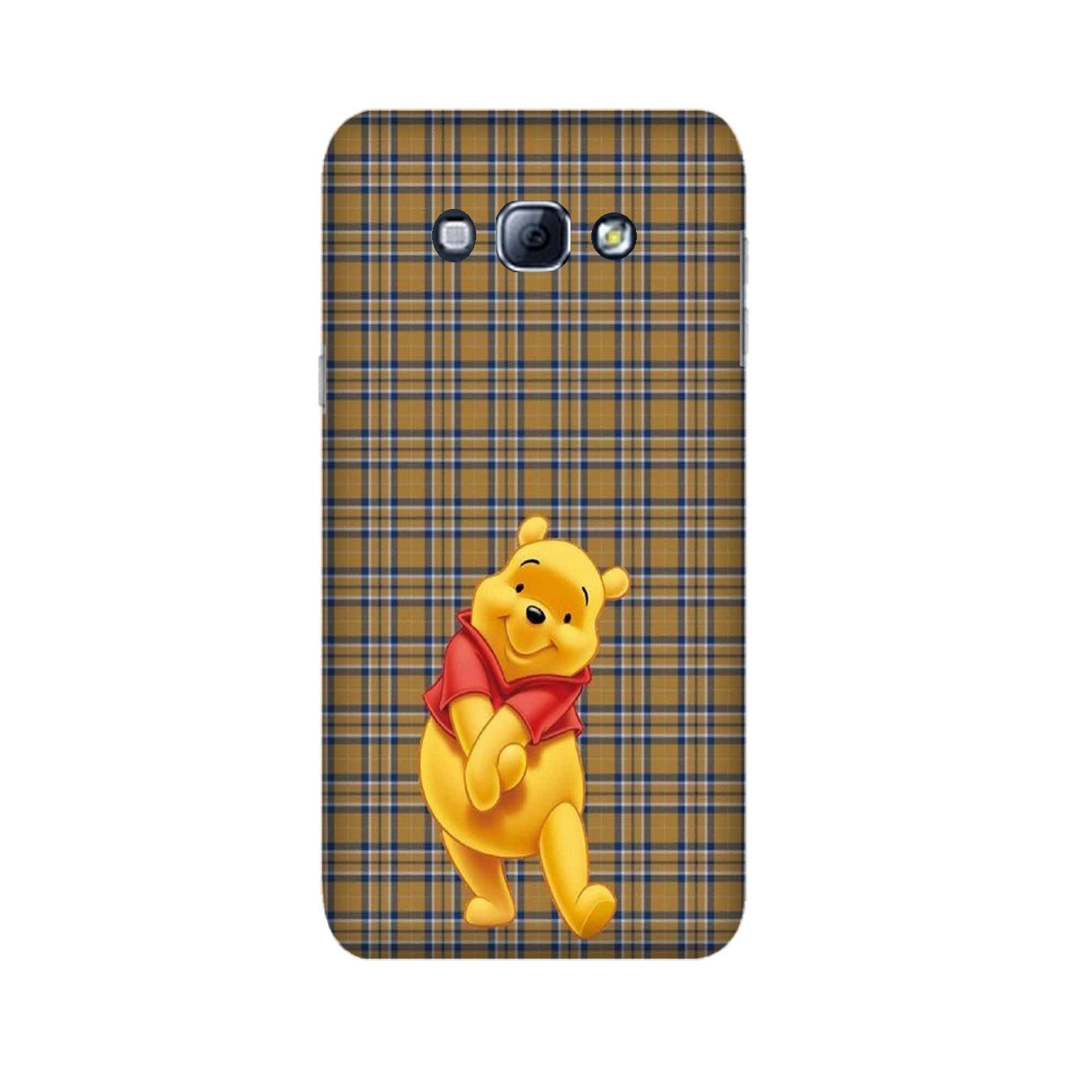 Pooh Mobile Back Case for Galaxy A8 (2015)  (Design - 321)