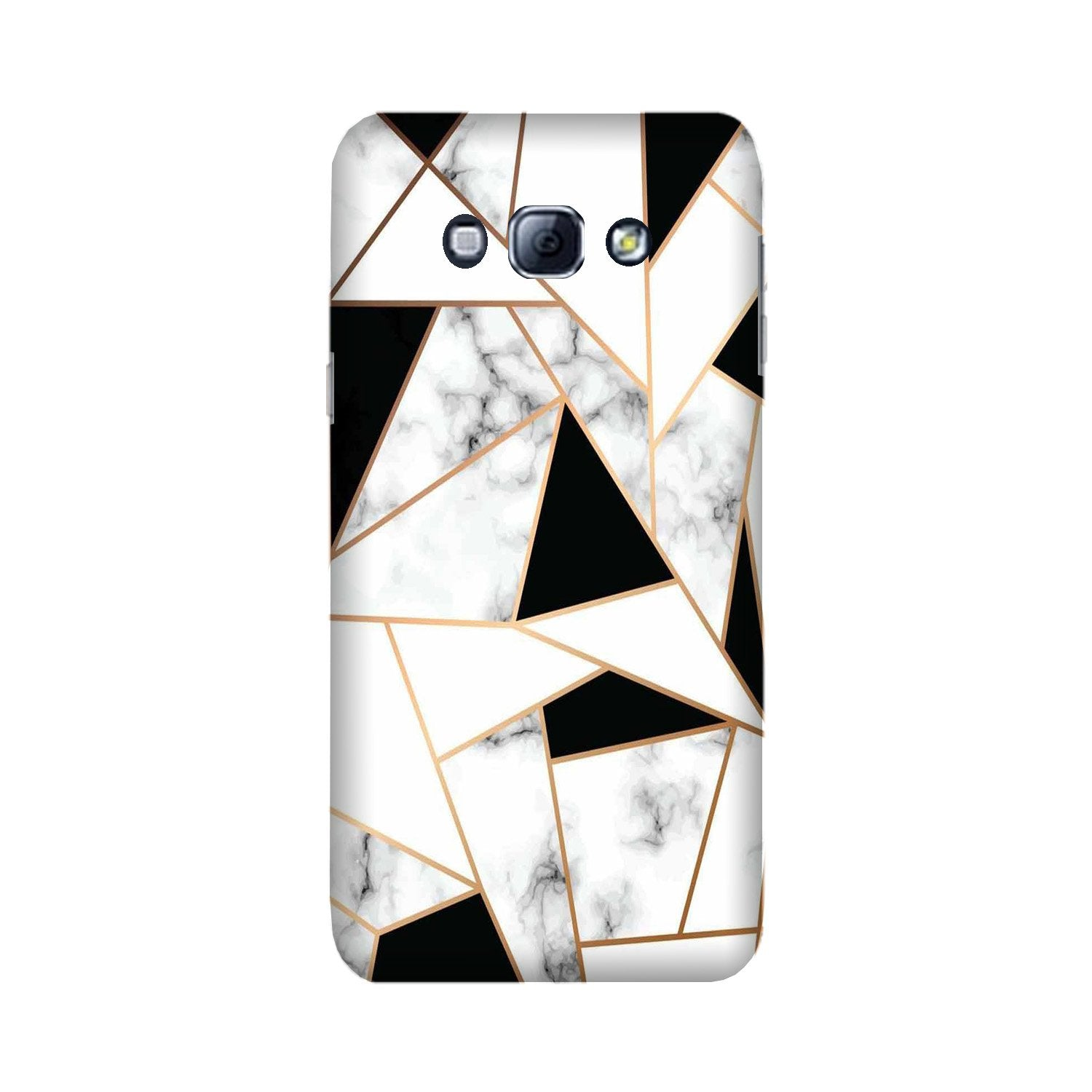 Marble Texture Mobile Back Case for Galaxy A8 (2015)  (Design - 322)