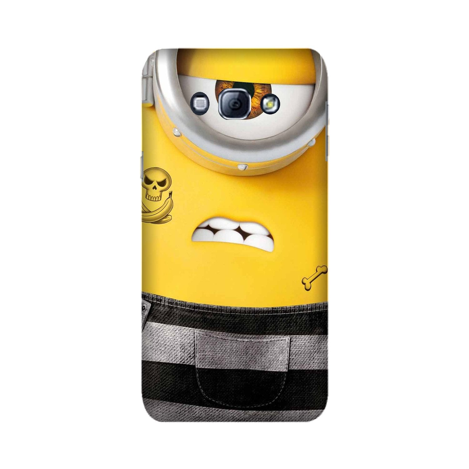 Minion Mobile Back Case for Galaxy A8 (2015)  (Design - 324)