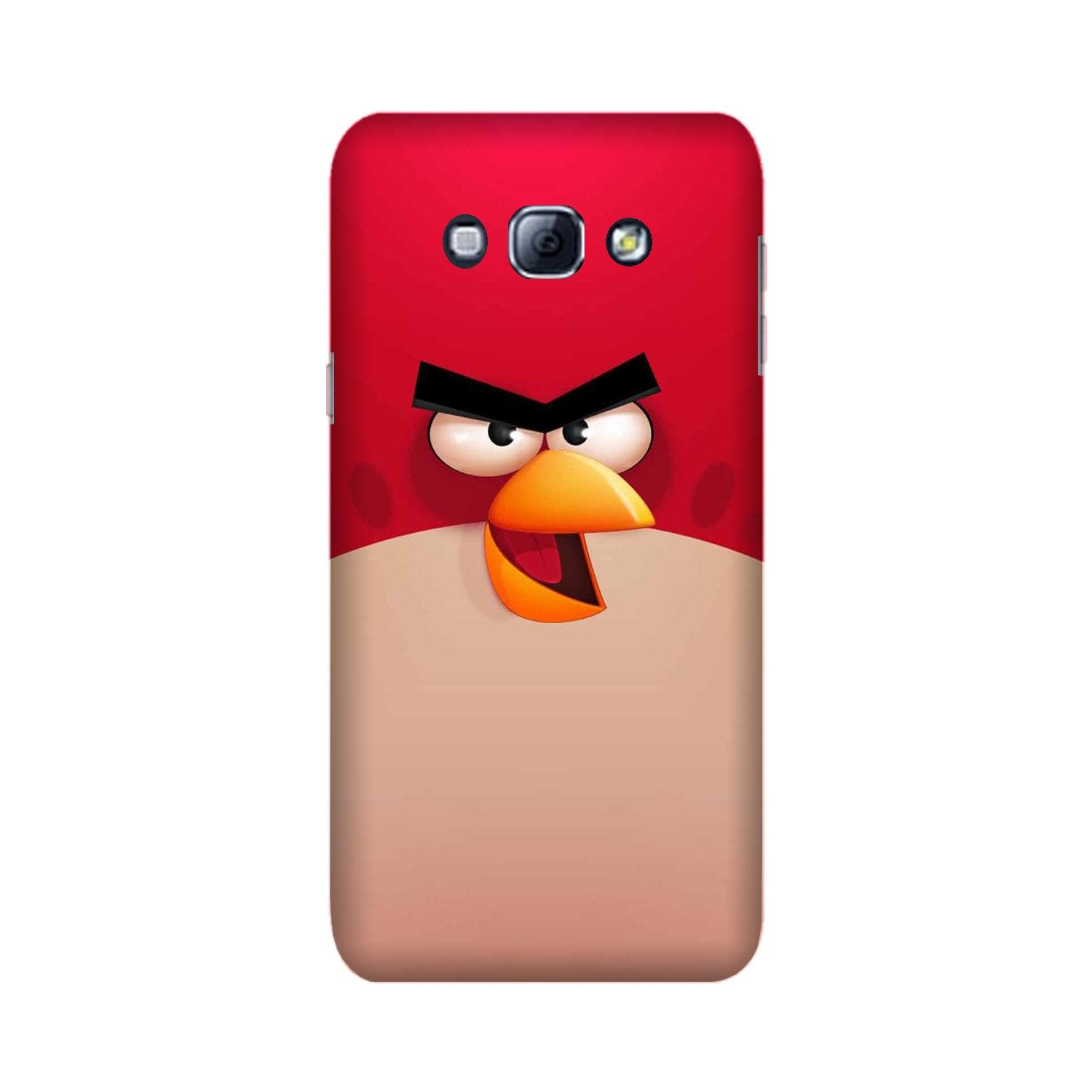 Angry Bird Red Mobile Back Case for Galaxy A8 (2015)  (Design - 325)