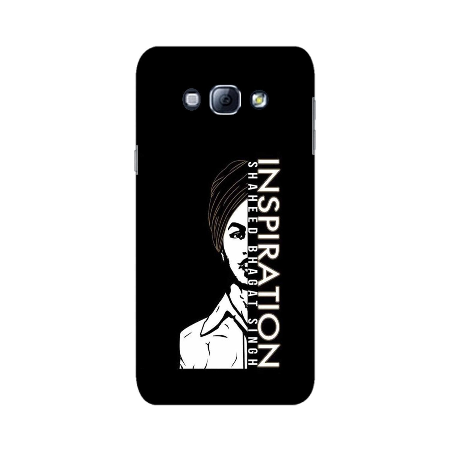 Bhagat Singh Mobile Back Case for Galaxy A8 (2015)  (Design - 329)