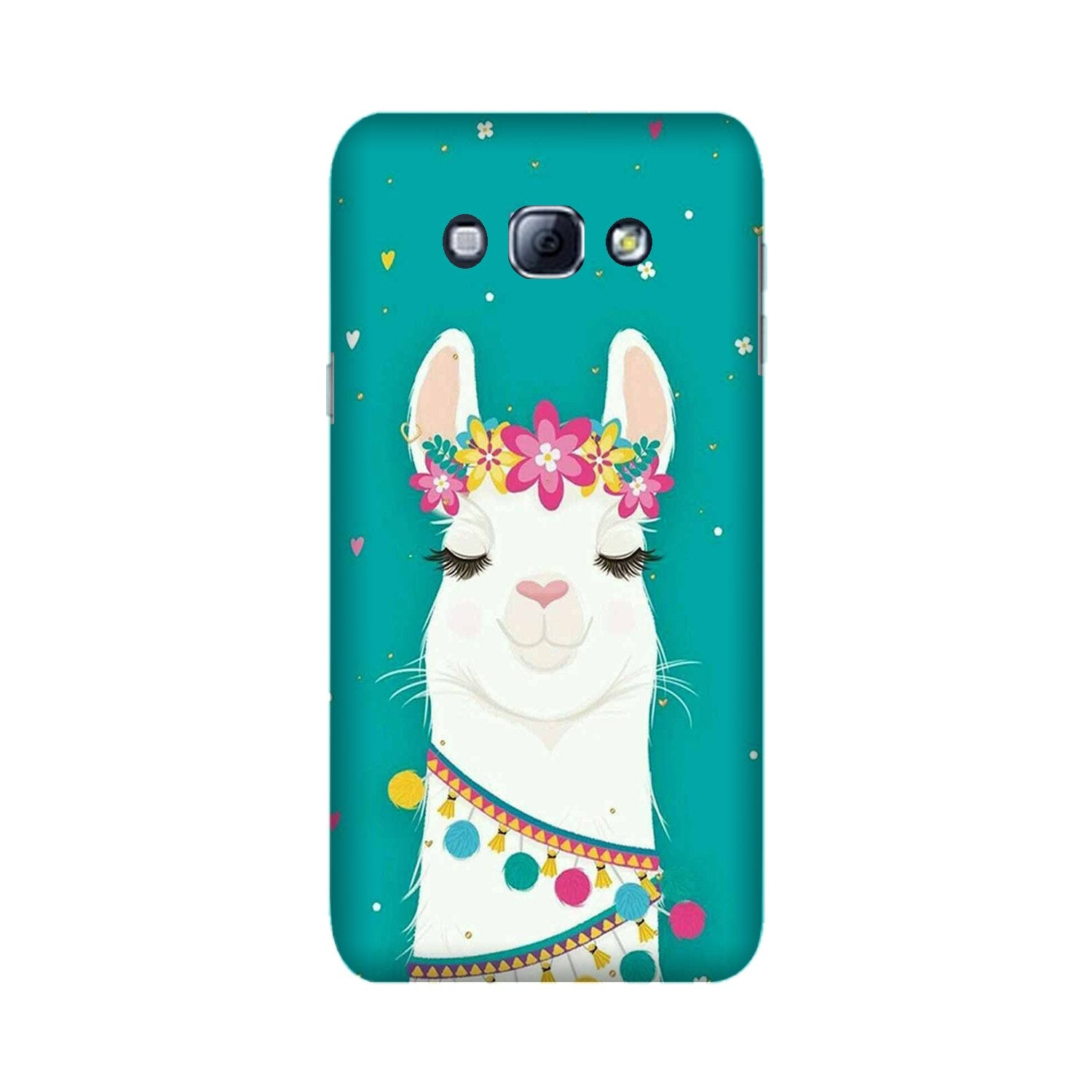 Camel Mobile Back Case for Galaxy A8 (2015)  (Design - 331)