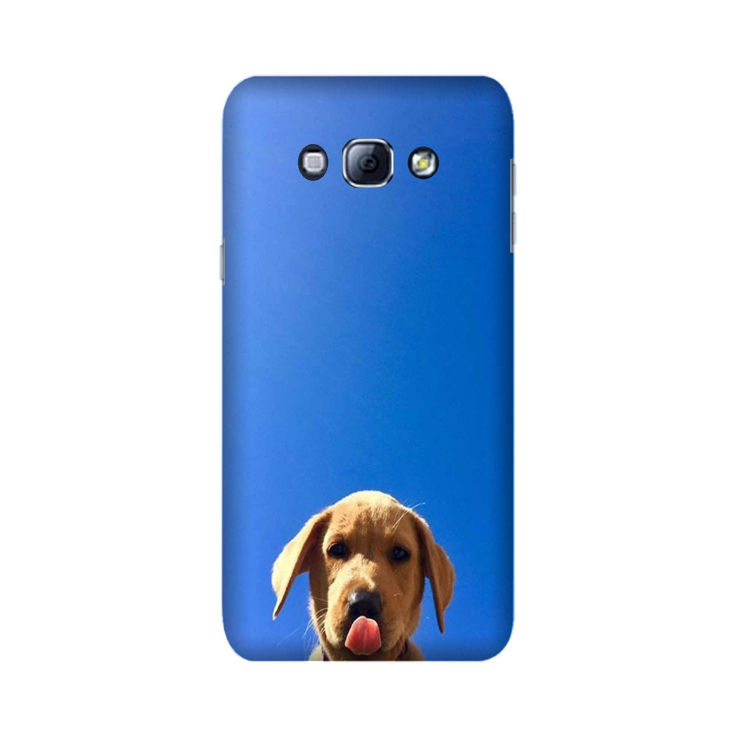 Dog Mobile Back Case for Galaxy A8 (2015)  (Design - 332)