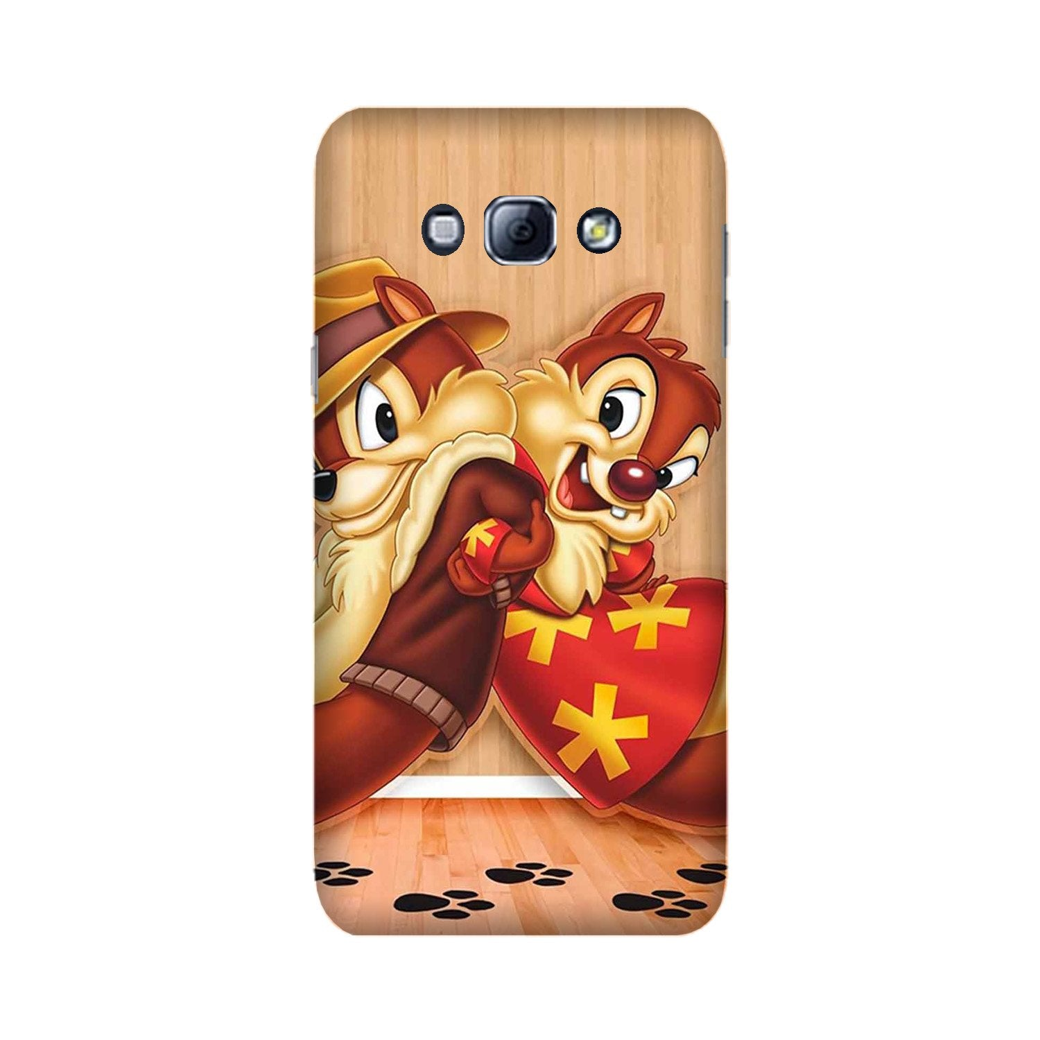 Chip n Dale Mobile Back Case for Galaxy A8 (2015)  (Design - 335)