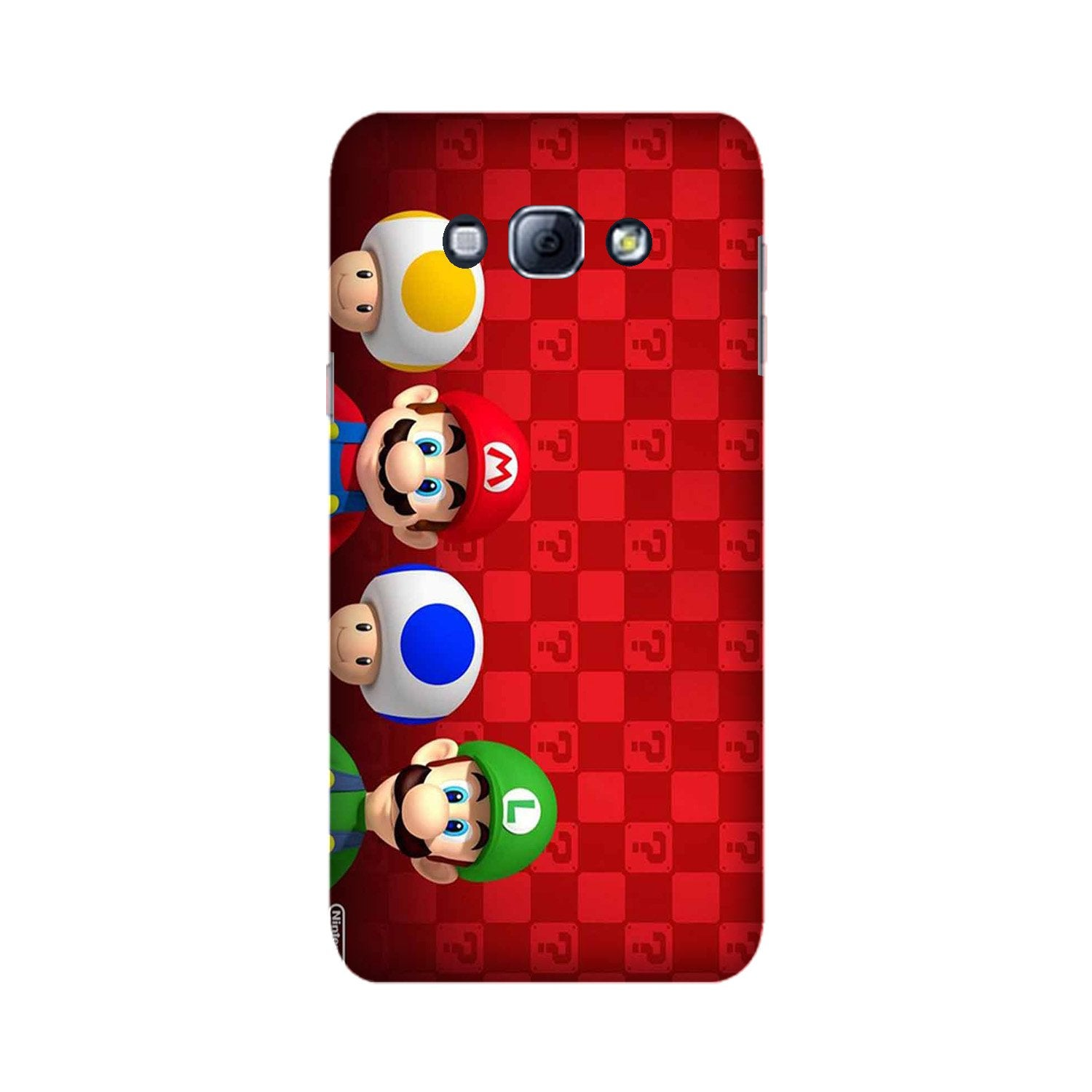 Mario Mobile Back Case for Galaxy A8 (2015)  (Design - 337)