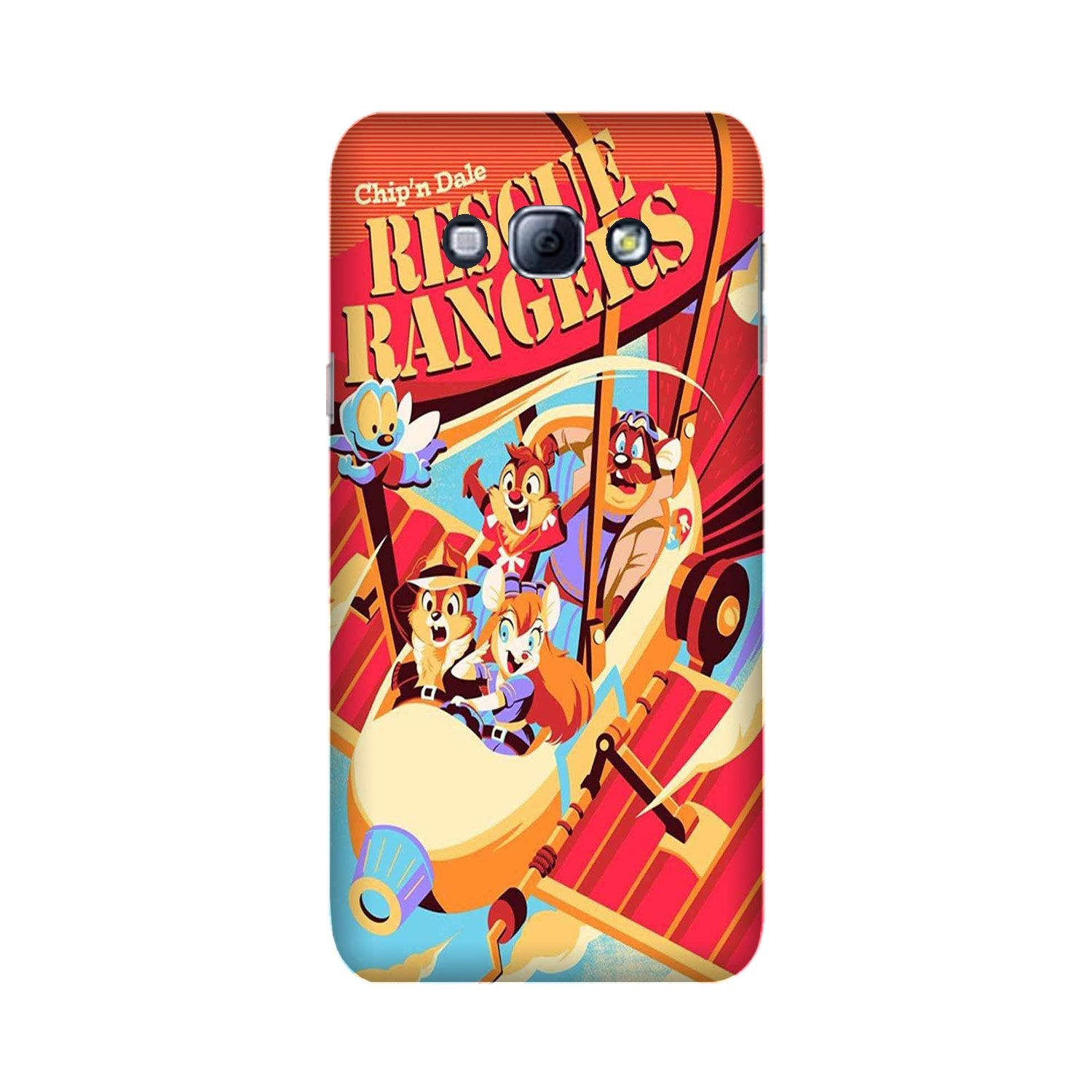Rescue Rangers Mobile Back Case for Galaxy A8 (2015)  (Design - 341)