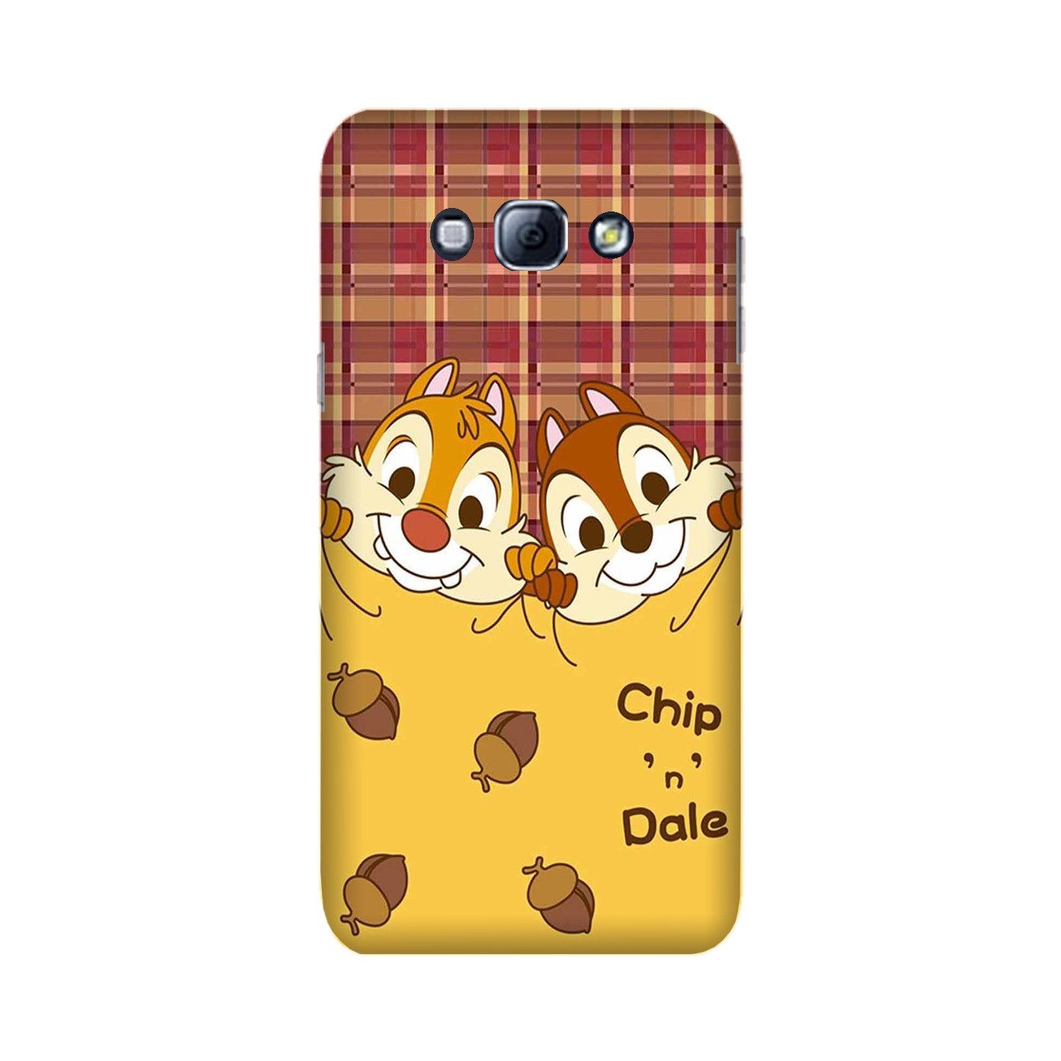 Chip n Dale Mobile Back Case for Galaxy A8 (2015)  (Design - 342)