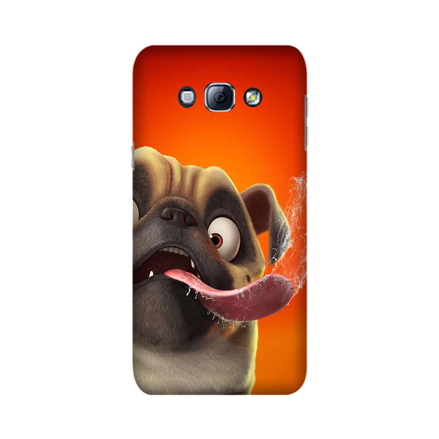 Dog Mobile Back Case for Galaxy A8 (2015)  (Design - 343)