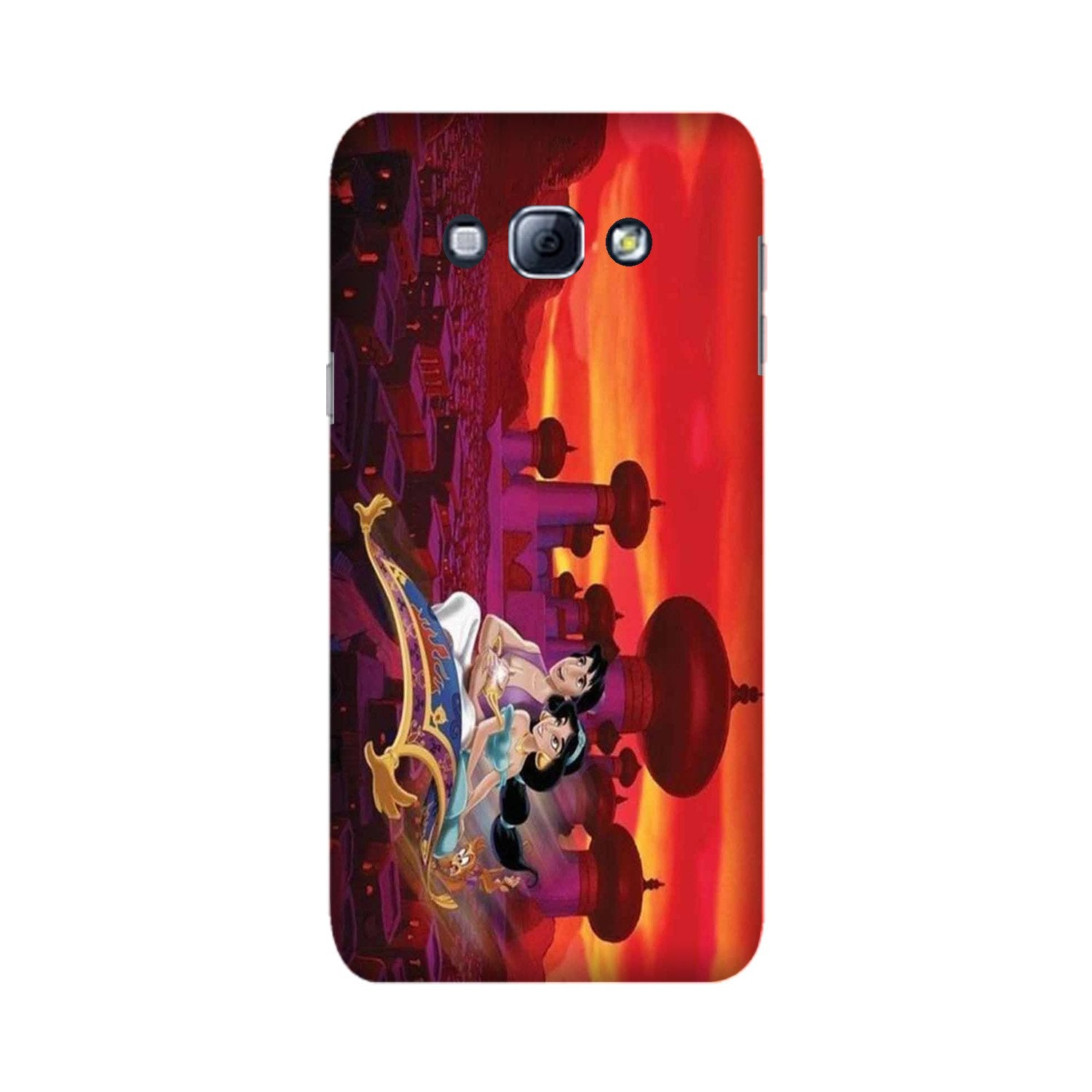 Aladdin Mobile Back Case for Galaxy A8 (2015)  (Design - 345)