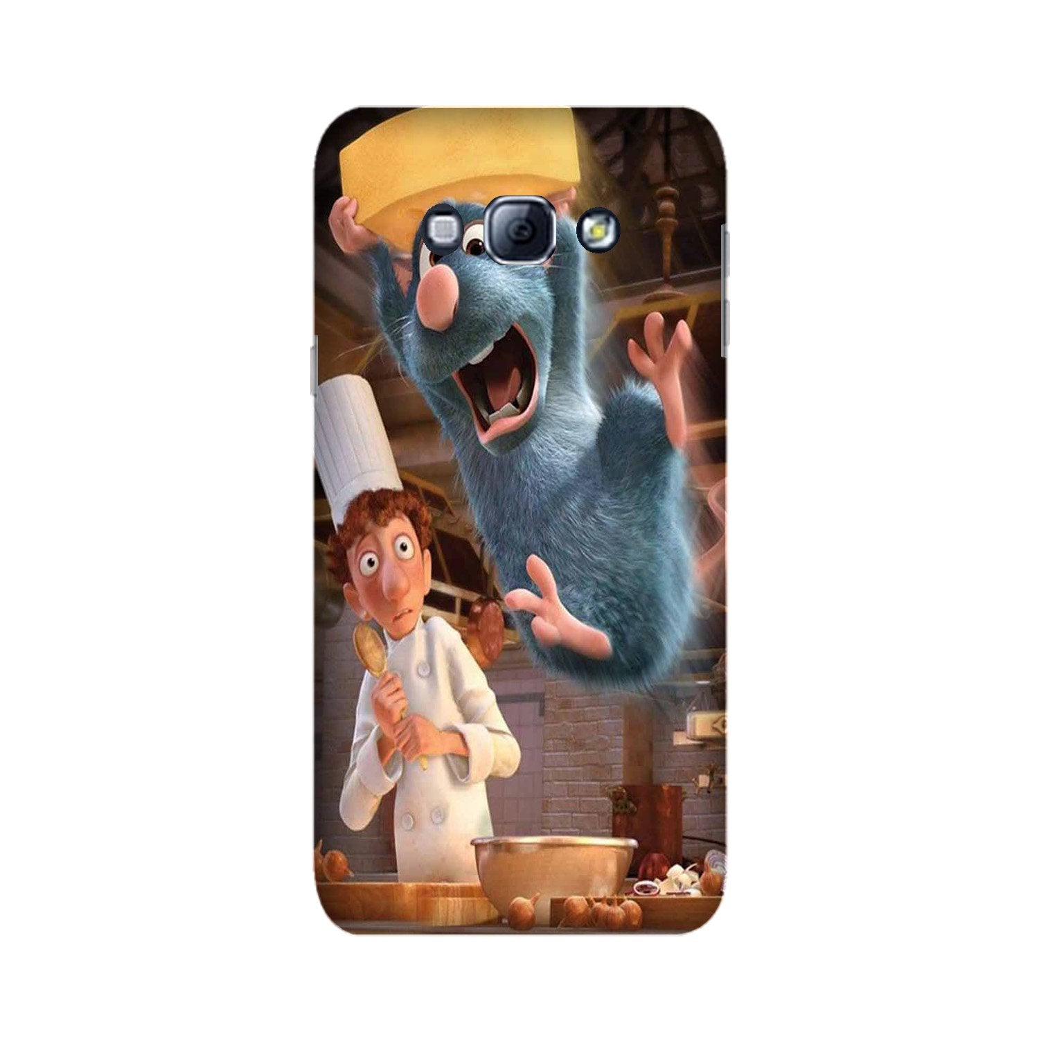 Ratatouille Mobile Back Case for Galaxy A8 (2015)  (Design - 347)
