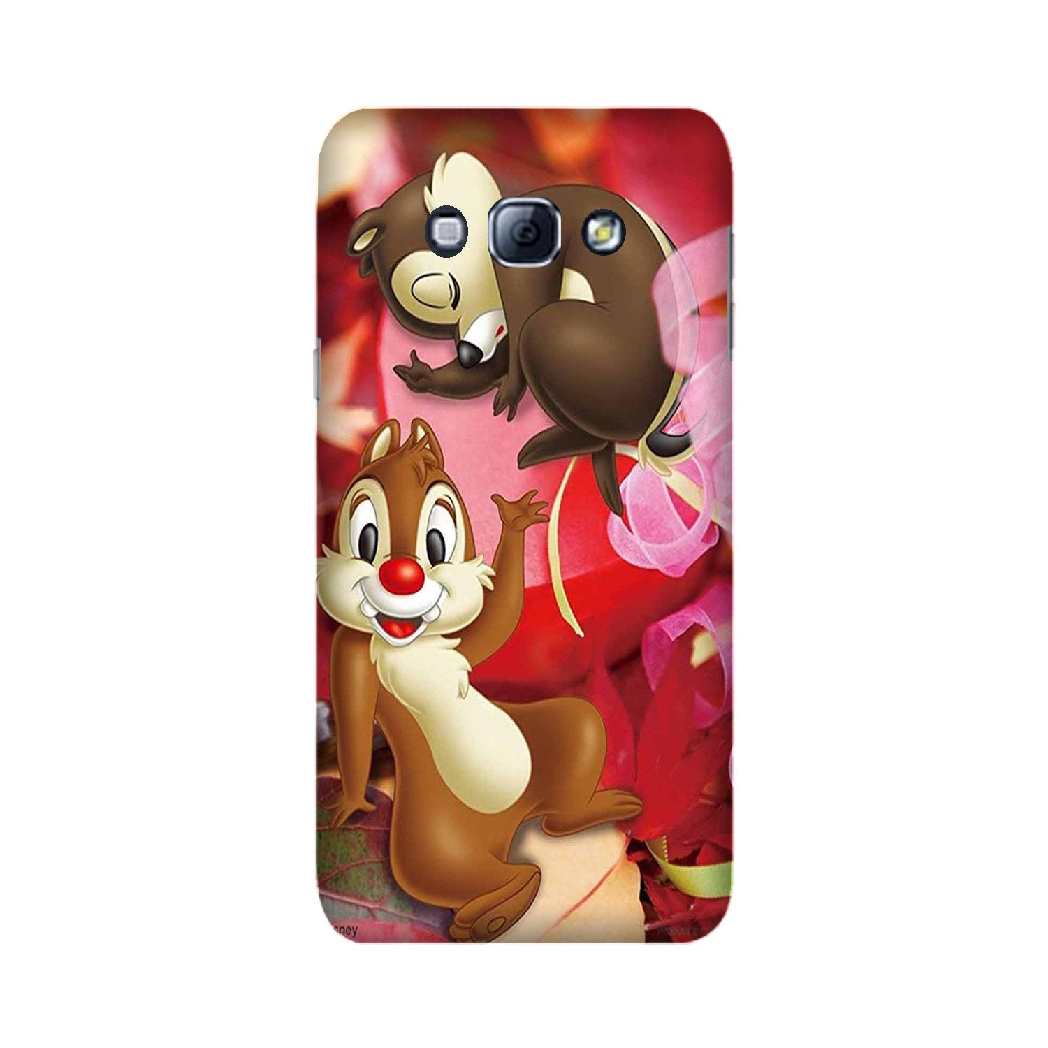 Chip n Dale Mobile Back Case for Galaxy A8 (2015)  (Design - 349)