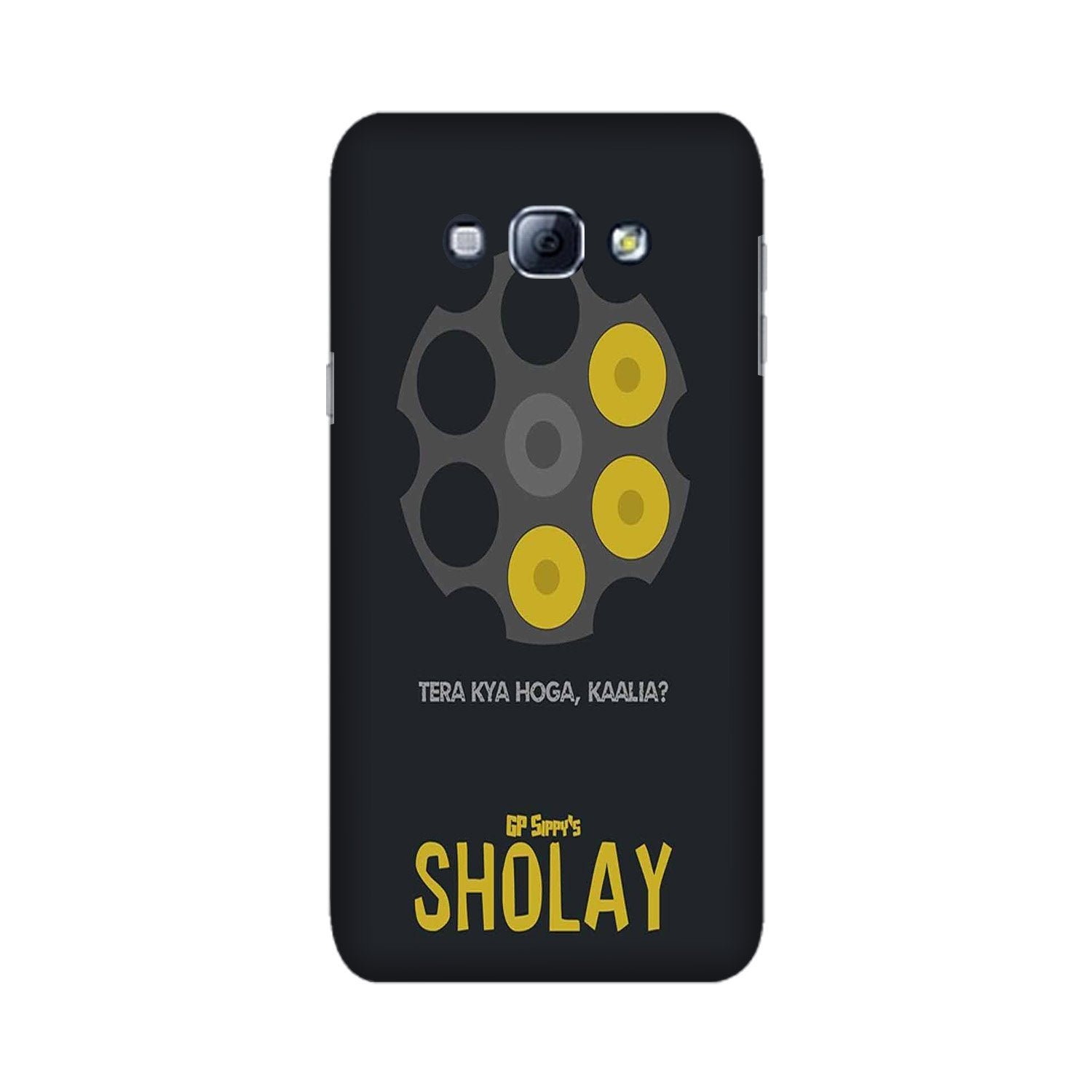 Sholay Mobile Back Case for Galaxy A8 (2015)  (Design - 356)