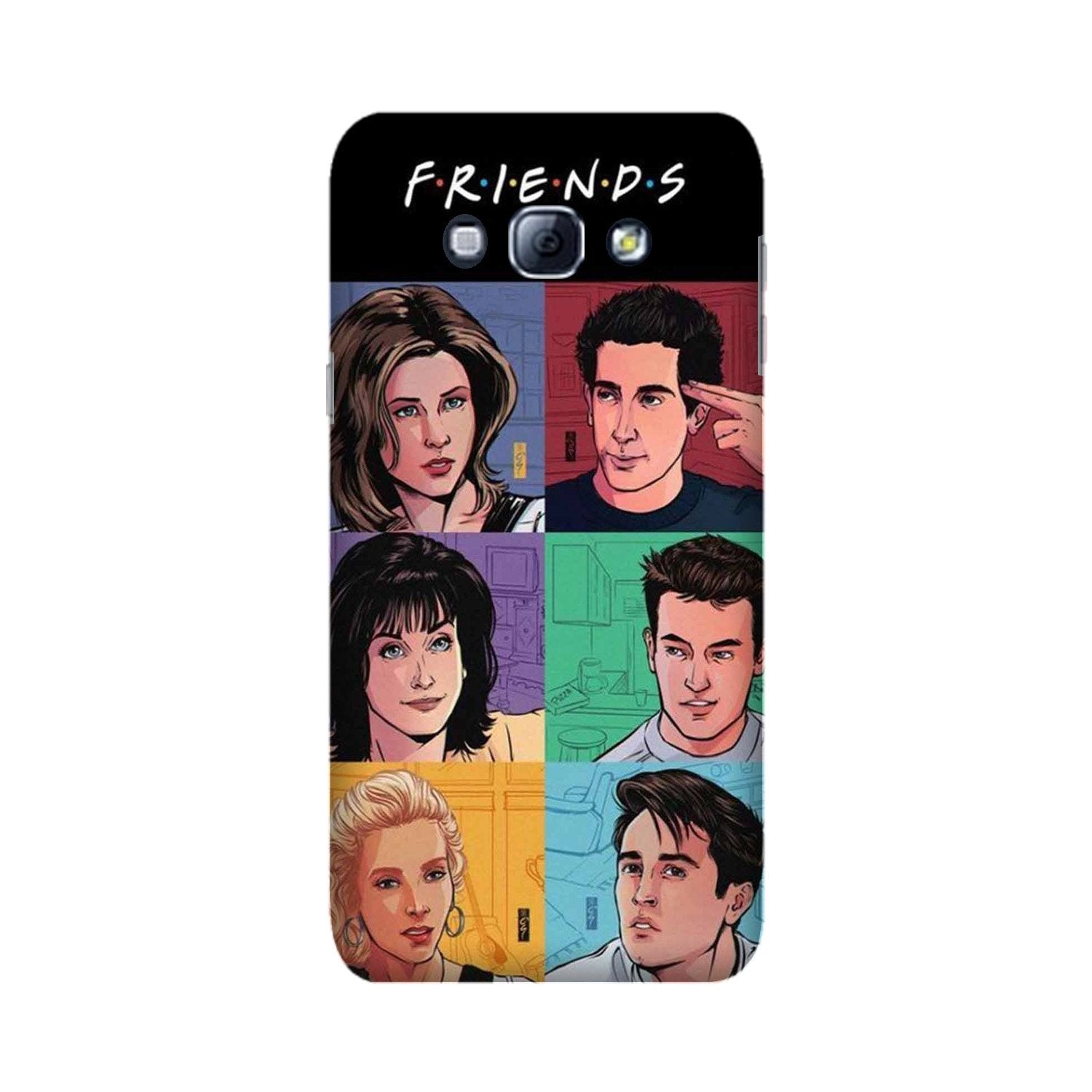 Friends Mobile Back Case for Galaxy A8 (2015)  (Design - 357)
