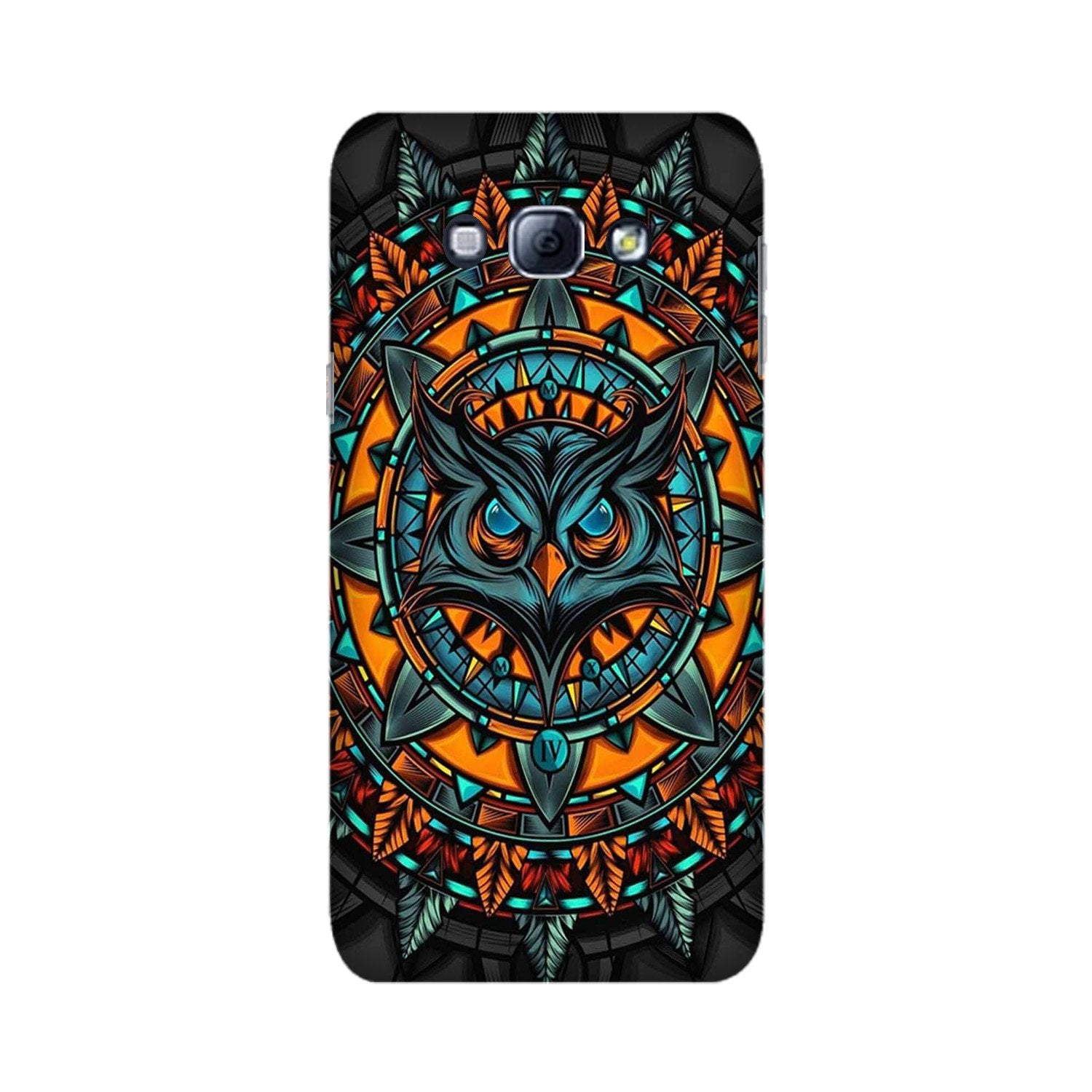 Owl Mobile Back Case for Galaxy A8 (2015)  (Design - 360)