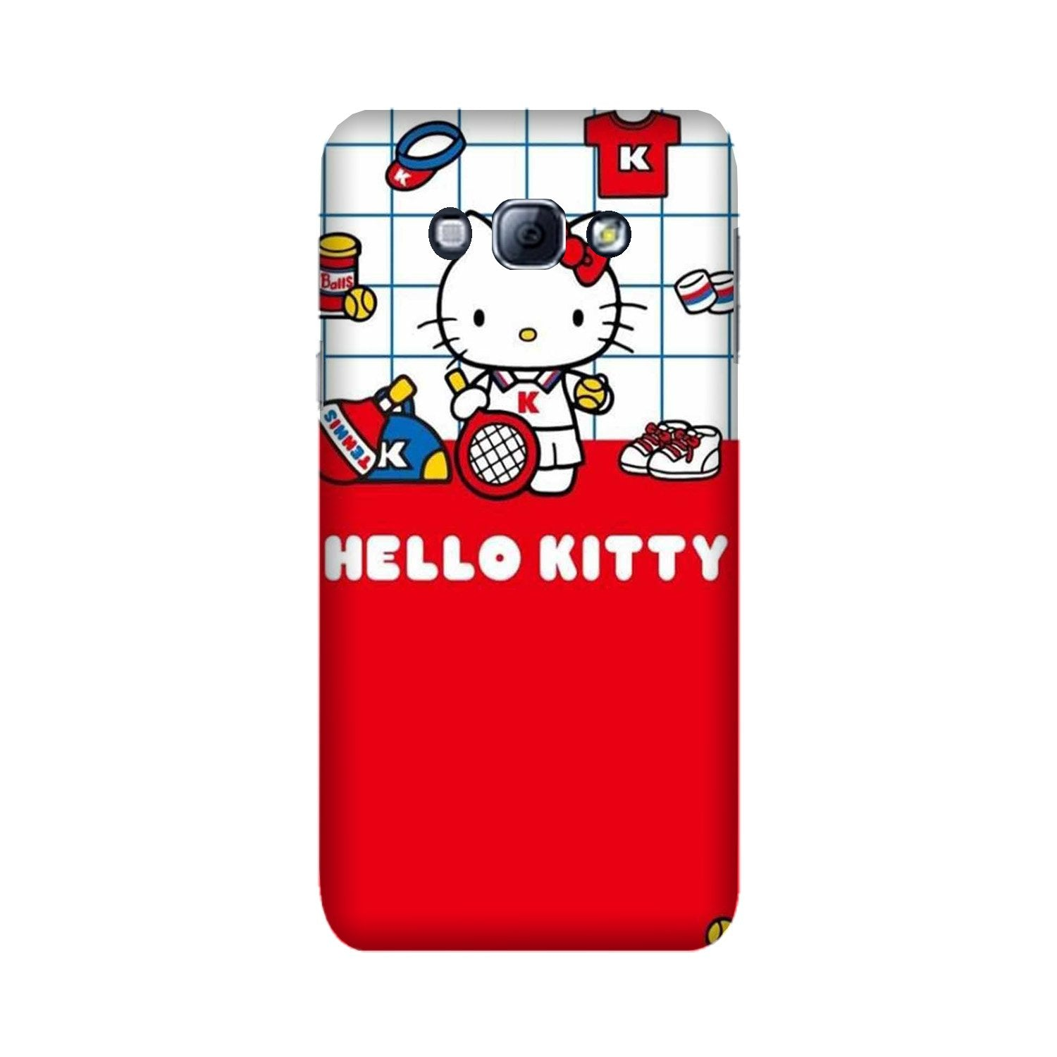 Hello Kitty Mobile Back Case for Galaxy A8 (2015)  (Design - 363)