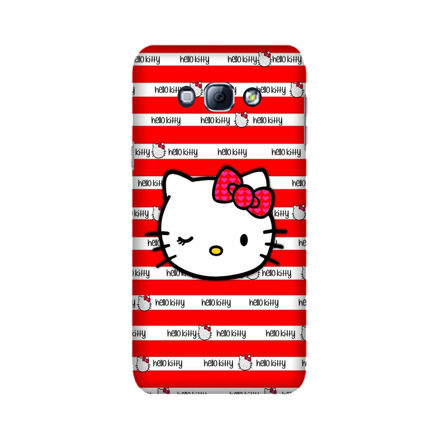 Hello Kitty Mobile Back Case for Galaxy A8 (2015)  (Design - 364)