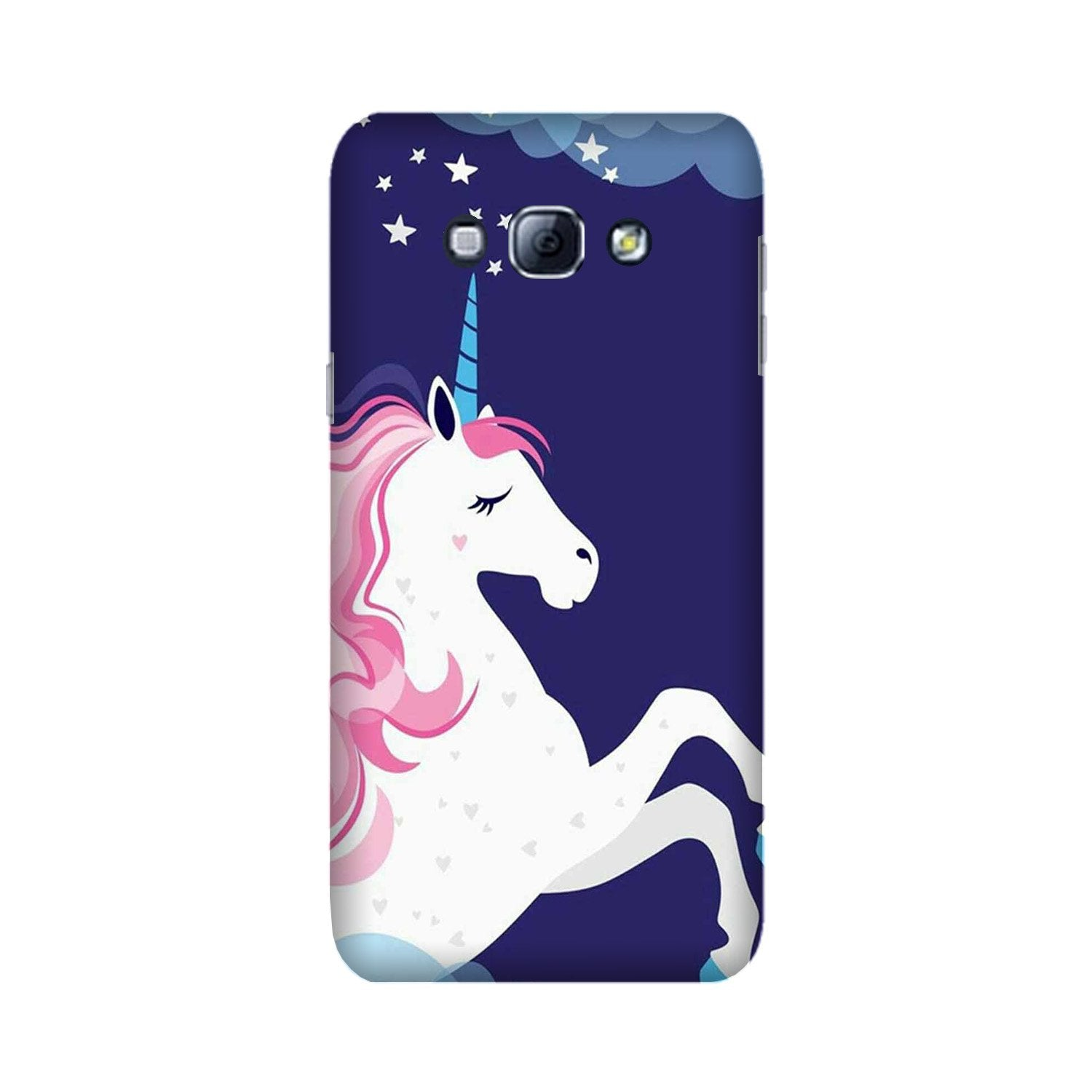 Unicorn Mobile Back Case for Galaxy A8 (2015)  (Design - 365)