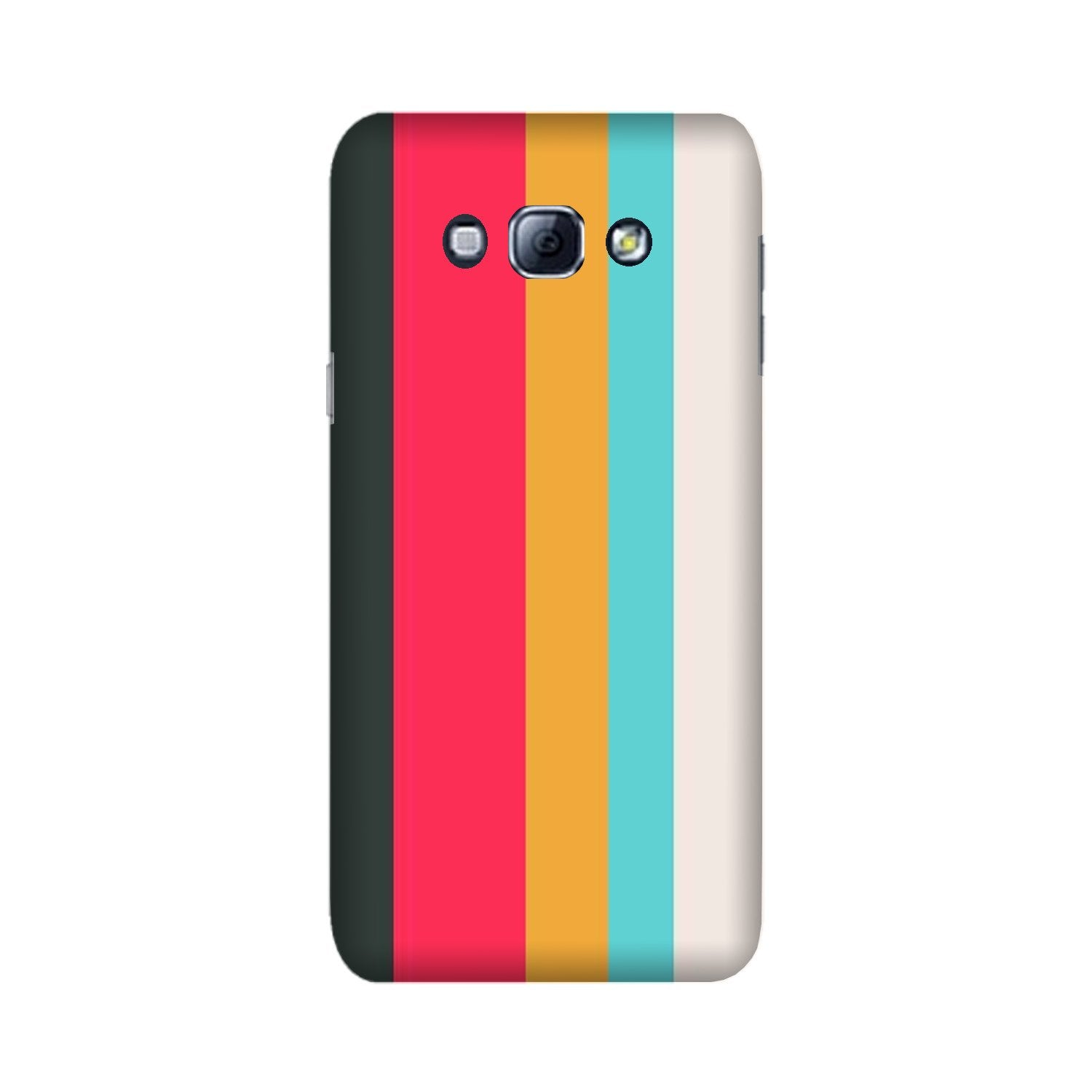 Color Pattern Mobile Back Case for Galaxy A8 (2015)  (Design - 369)