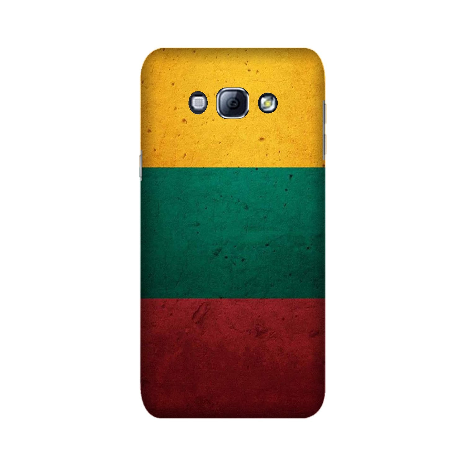 Color Pattern Mobile Back Case for Galaxy A8 (2015)  (Design - 374)