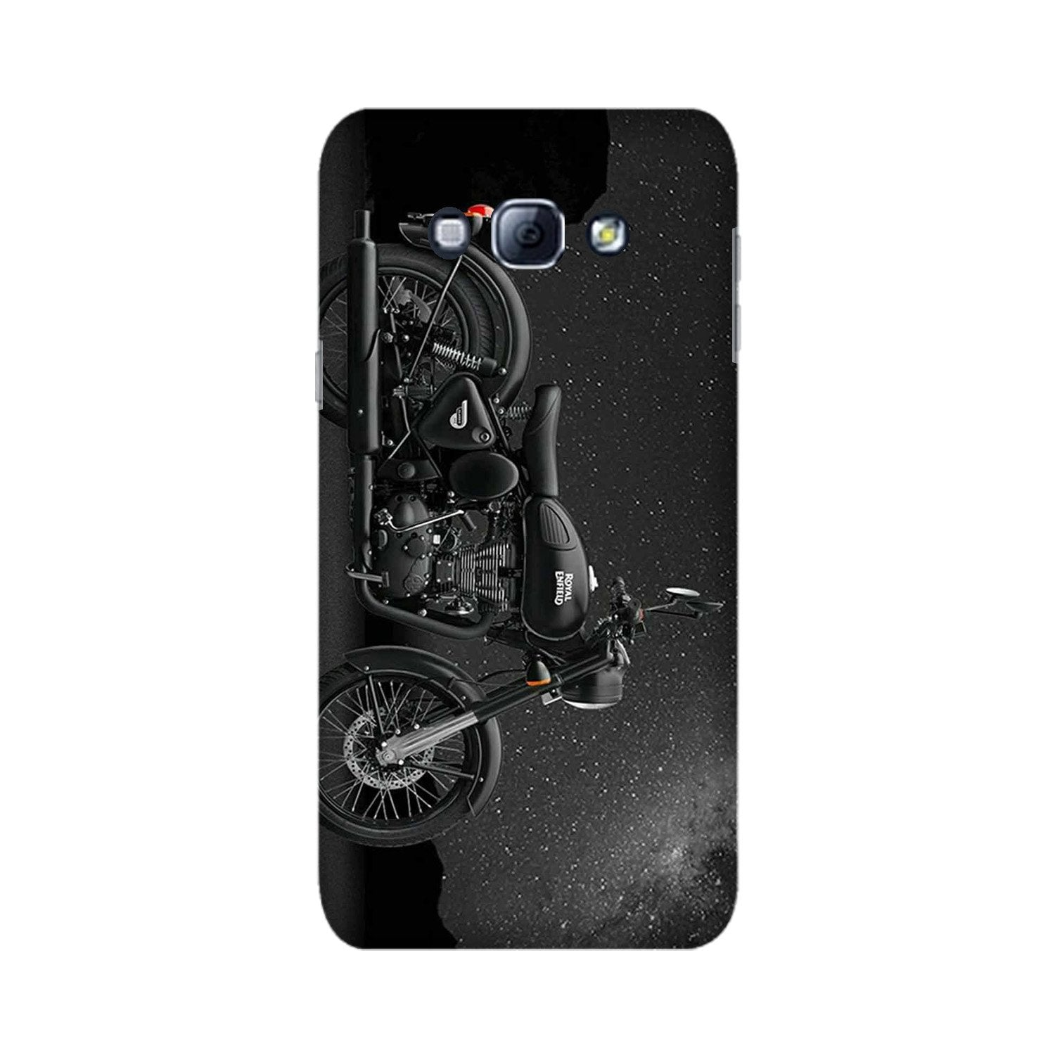 Royal Enfield Mobile Back Case for Galaxy A8 (2015)  (Design - 381)