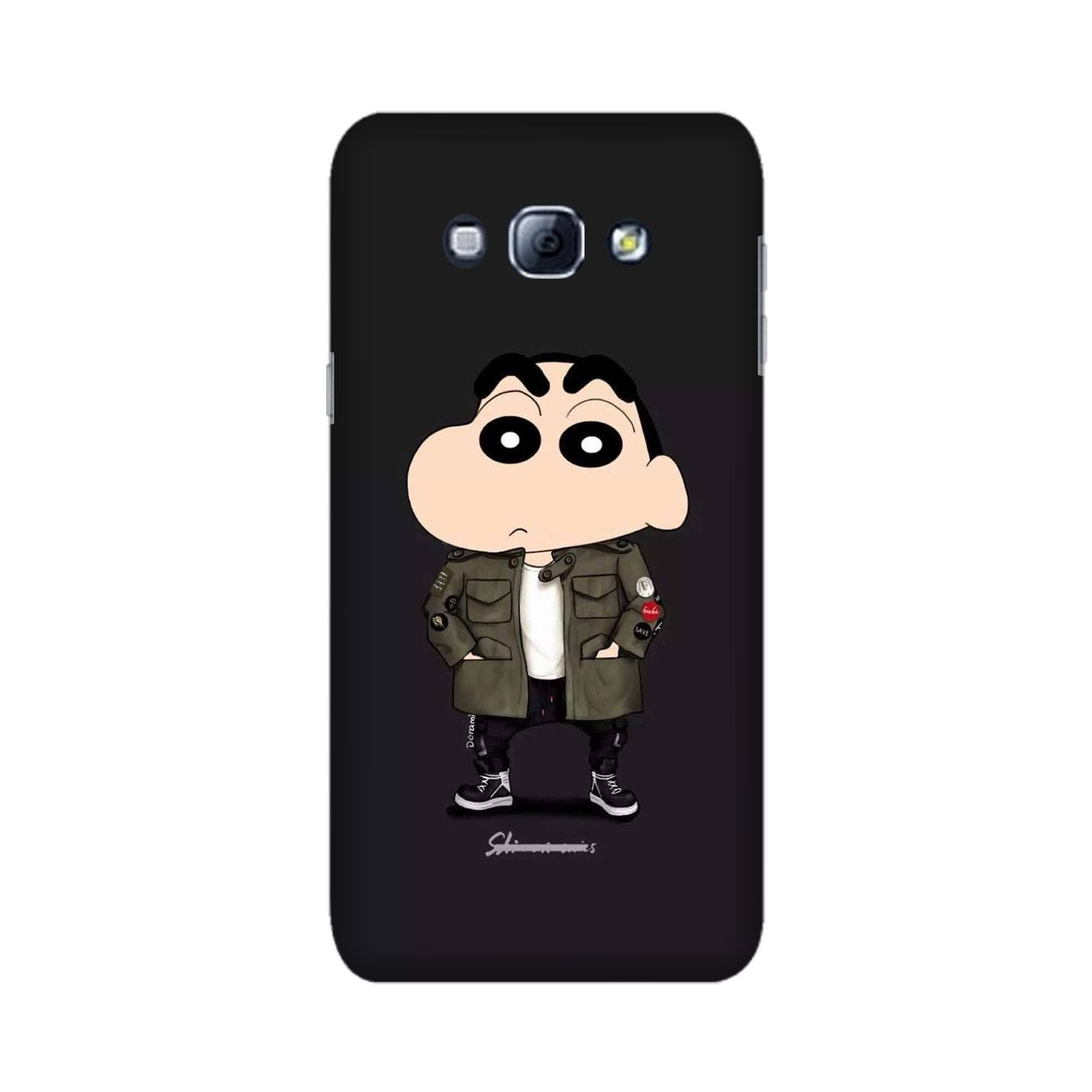 Shin Chan Mobile Back Case for Galaxy A8 (2015)  (Design - 391)
