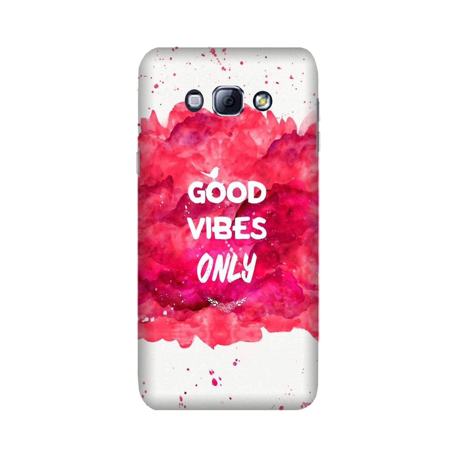 Good Vibes Only Mobile Back Case for Galaxy A8 (2015)  (Design - 393)