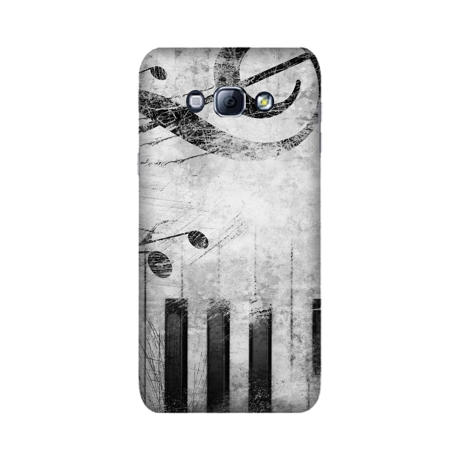 Music Mobile Back Case for Galaxy A8 (2015)  (Design - 394)