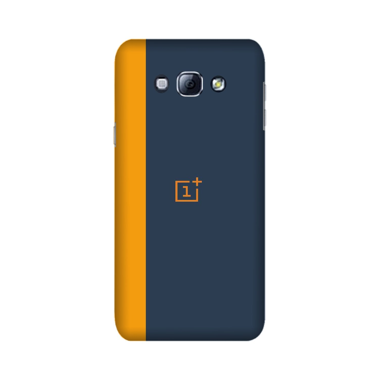 Oneplus Logo Mobile Back Case for Galaxy A8 (2015)  (Design - 395)