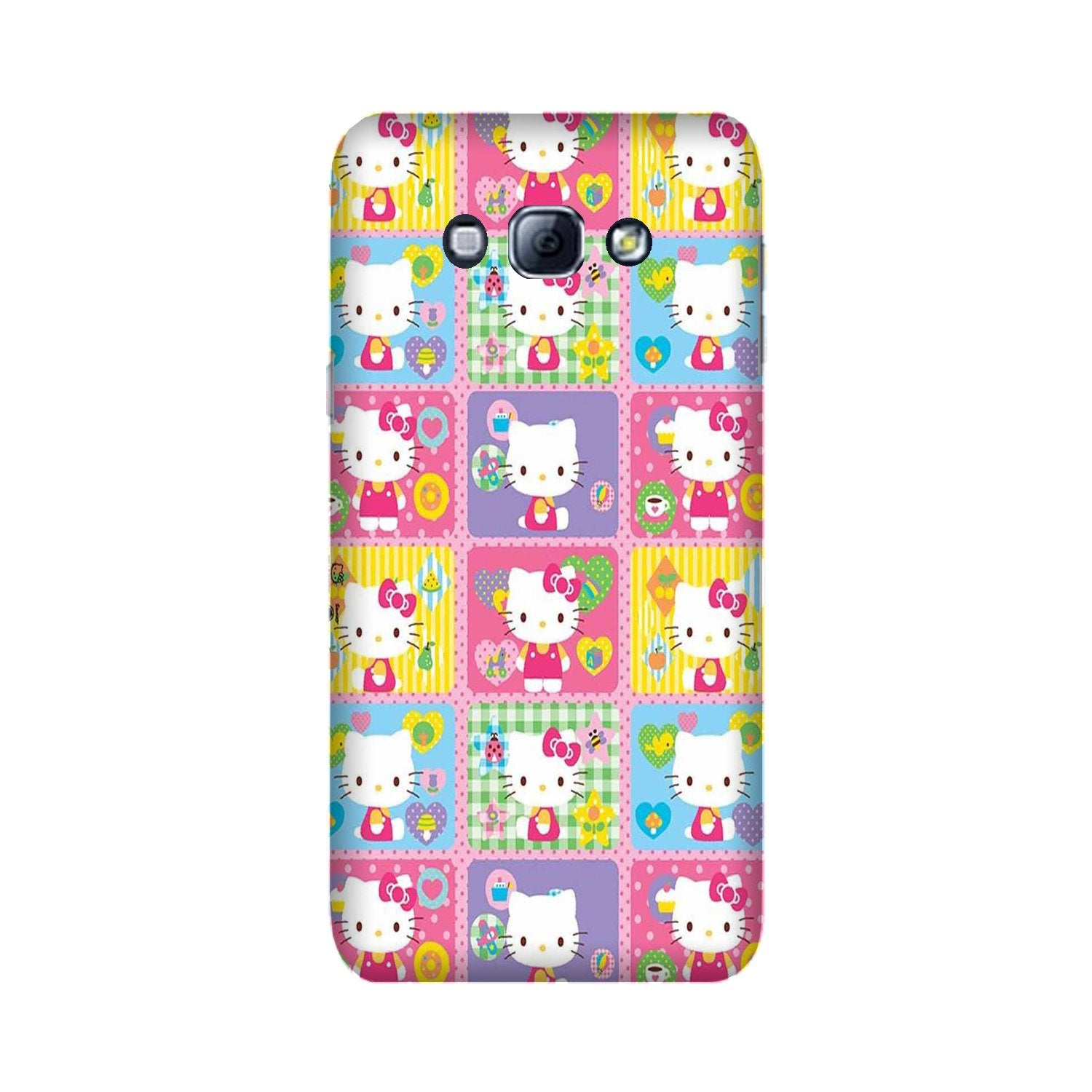 Kitty Mobile Back Case for Galaxy A8 (2015)  (Design - 400)