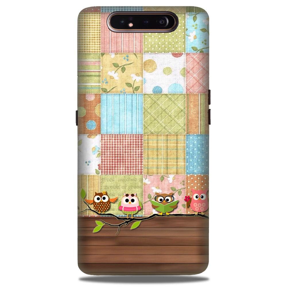 Owls Case for Samsung Galaxy A90 (Design - 202)