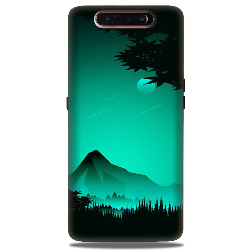 Moon Mountain Case for Samsung Galaxy A90 (Design - 204)