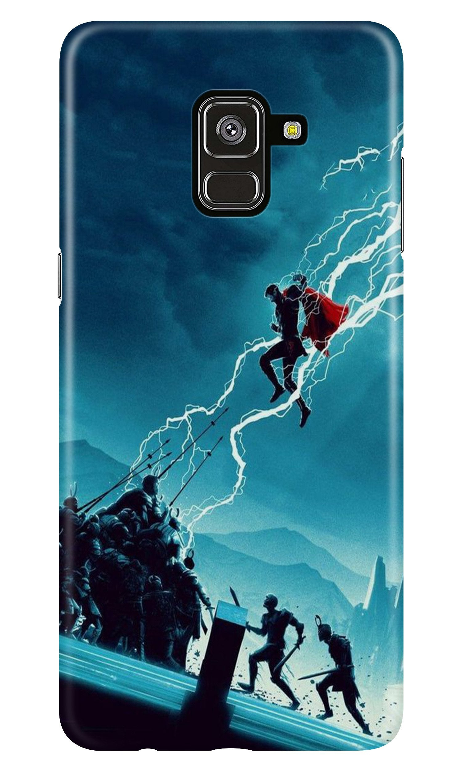 Thor Avengers Case for Samsung Galaxy A8 Plus (Design No. 243)
