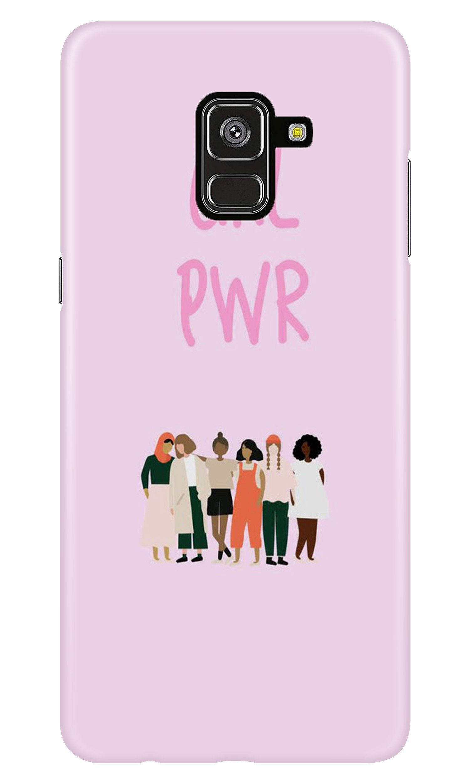 Girl Power Case for Samsung Galaxy A8 Plus (Design No. 267)