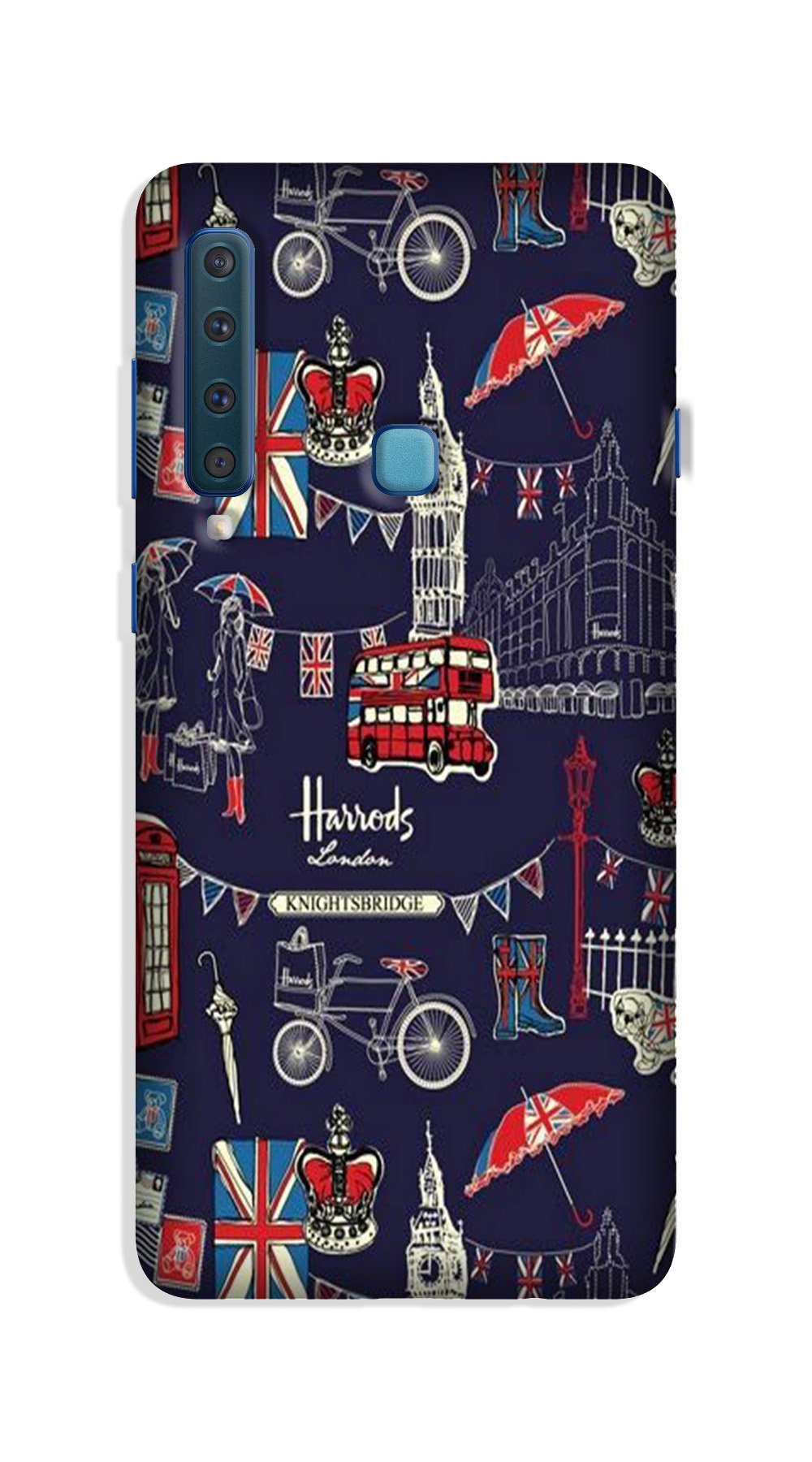 Love London Case for Galaxy A9 (2018)