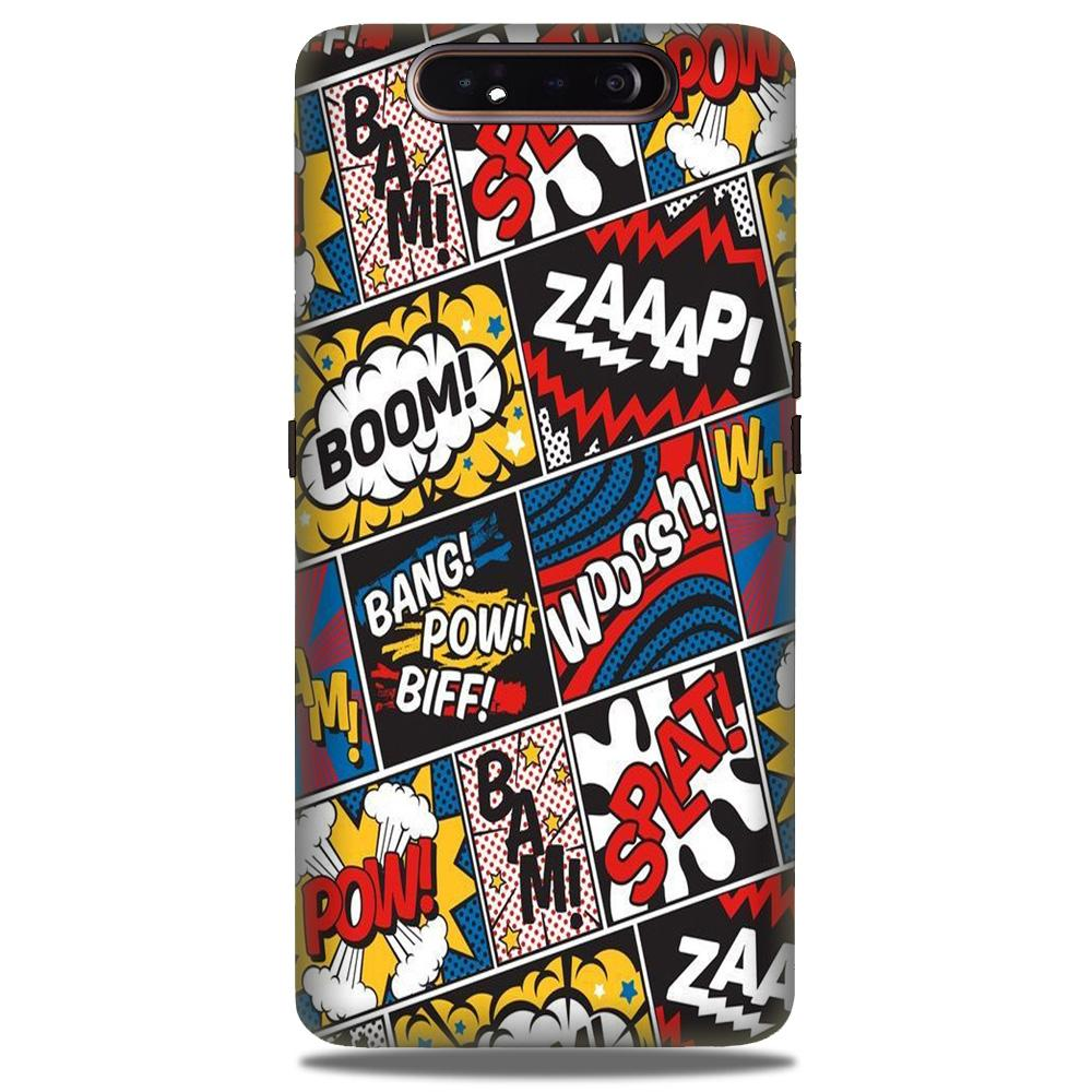Boom Mobile Back Case for Samsung Galaxy A90  (Design - 302)