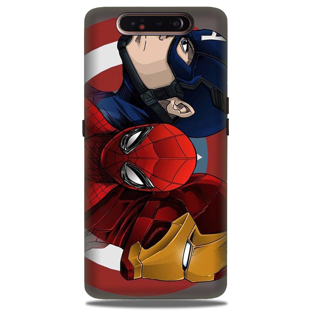 Superhero Mobile Back Case for Samsung Galaxy A90  (Design - 311)
