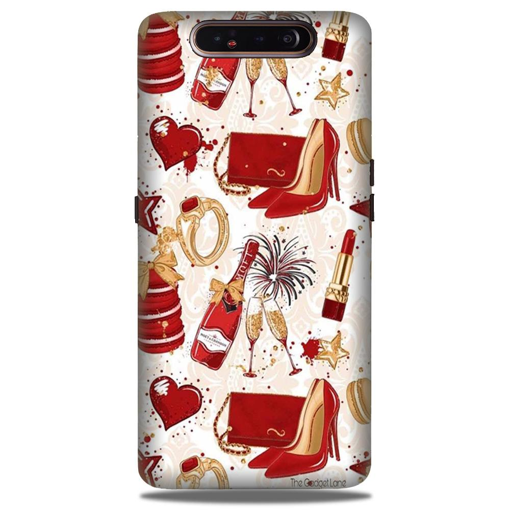 Girlish Mobile Back Case for Samsung Galaxy A90  (Design - 312)