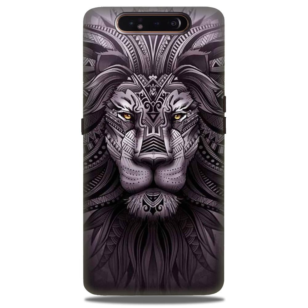 Lion Mobile Back Case for Samsung Galaxy A90  (Design - 315)