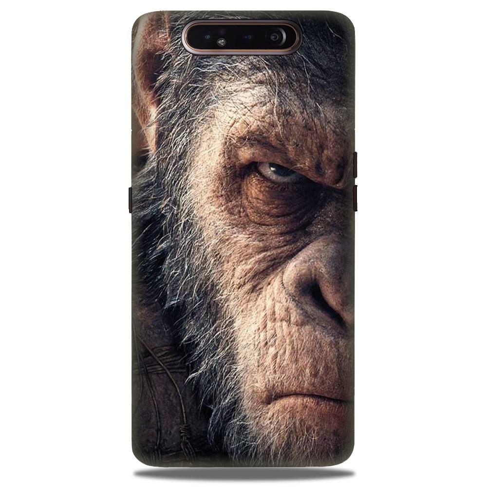 Angry Ape Mobile Back Case for Samsung Galaxy A90  (Design - 316)