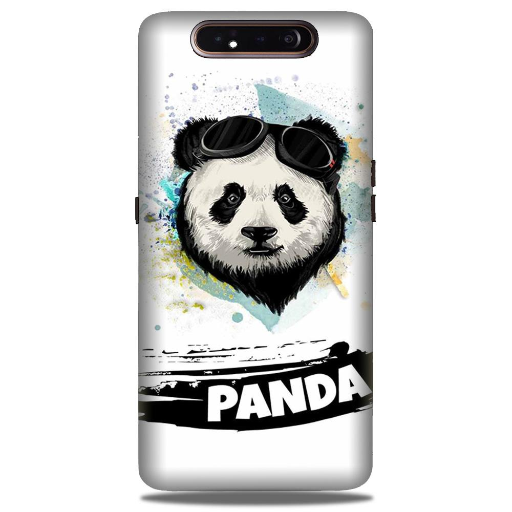 Panda Mobile Back Case for Samsung Galaxy A90  (Design - 319)