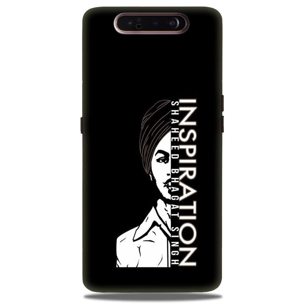 Bhagat Singh Mobile Back Case for Samsung Galaxy A90  (Design - 329)