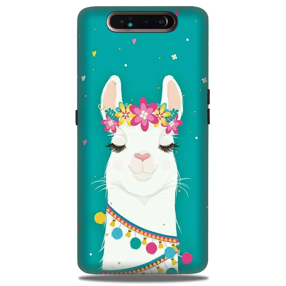 Camel Mobile Back Case for Samsung Galaxy A90  (Design - 331)