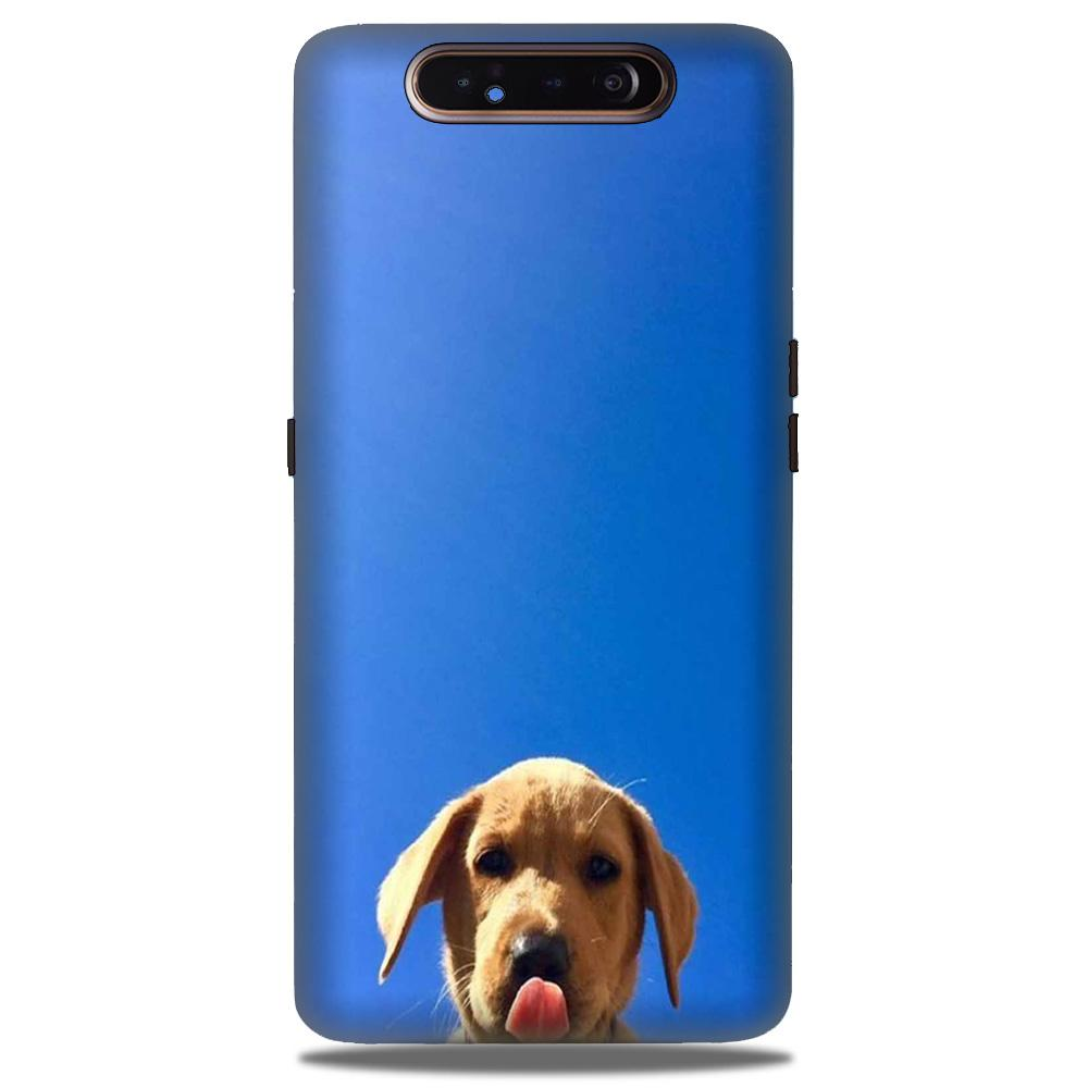 Dog Mobile Back Case for Samsung Galaxy A90  (Design - 332)