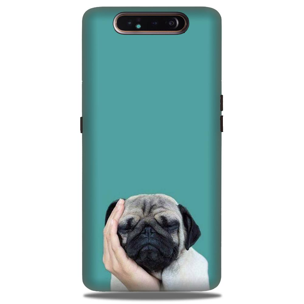 Puppy Mobile Back Case for Samsung Galaxy A90  (Design - 333)