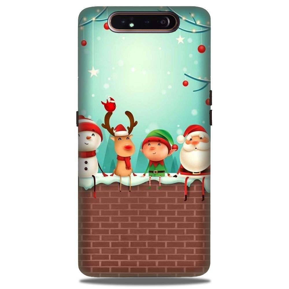 Santa Claus Mobile Back Case for Samsung Galaxy A90  (Design - 334)