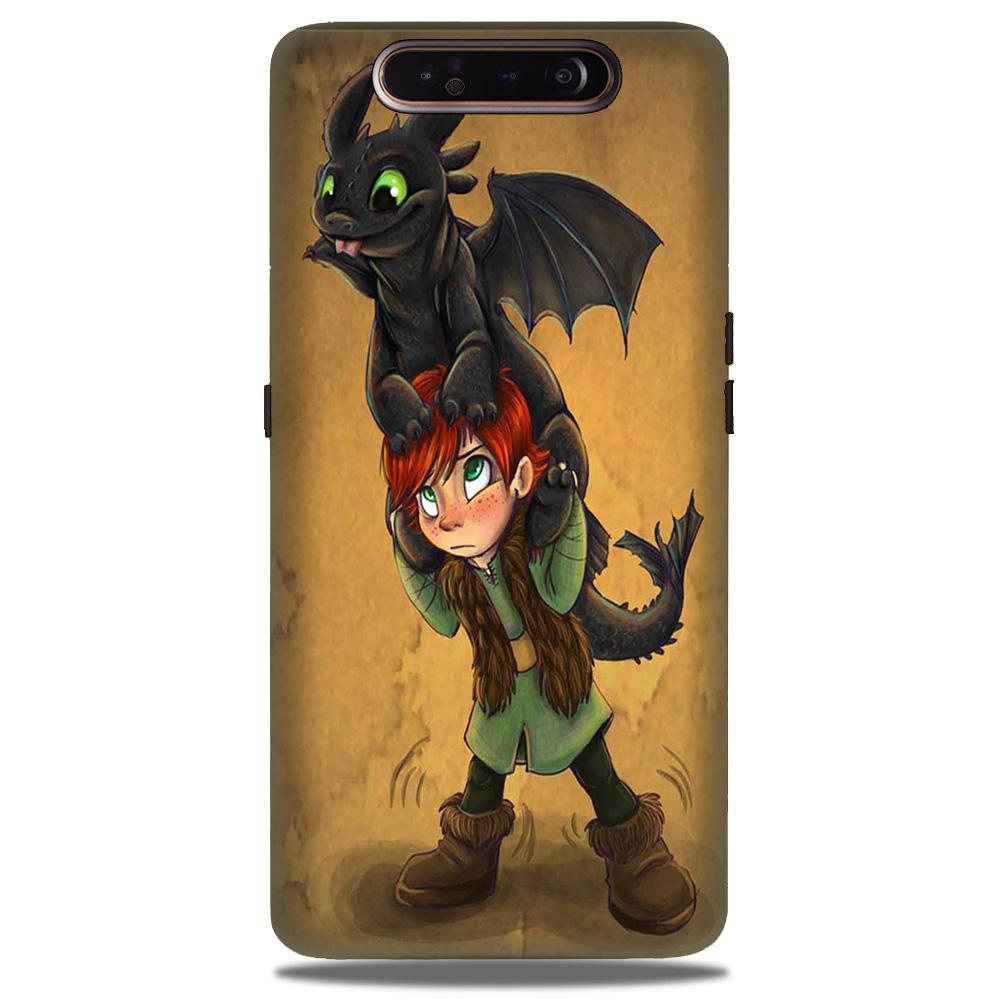 Dragon Mobile Back Case for Samsung Galaxy A90  (Design - 336)